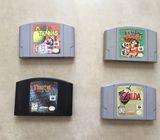 Vendo juegos de N64 Nintendo 64 *super estado*