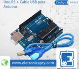 Arduino Uno R3 - Electronica y Robotica