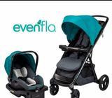 Se vende coche para bebé con carguera, marca EVENFLO