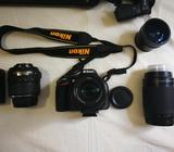 Camara Profesional Nikon D5200 Urgente