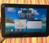 en venta Tablet Samsung en perfecto estado, admite chip de telefonía móvil