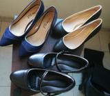 Zapatos de Tacon Talla 35 O 5