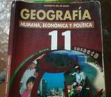 Libro de Geografía 11