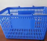 Canastas de compra para supermercado, hogar, lavandería, tienda, kiosko