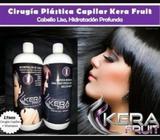 Cirugia Capilar Kera Fruit 1litro y shampoo