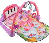 Se vende gimnasio de bebe, silla de comer portatil y silla mecedora, silla de carro graco