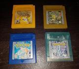 Vendo Juegos de Pokémon para gameboy, Nintendo