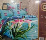 Hermosas Sabanas de Algodon Flores 3d
