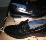 Zapatos Velez Cuero Formales Talla 42