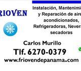 instalación, reparación, mantenimiento, aires acondicionado, split, neveras, refrigeradoras, lavador
