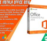 Se Instala Office 2016