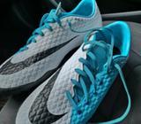 Vendo Taquillos Nike Hypervenom Talla 10