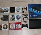 PS3 1 Control y 6 Juegos