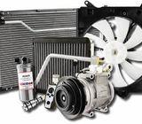 Aire acondicionado automotriz refrigeración repuestos  reparación