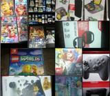 Venta de juegos Nintendo Switch y accesorios