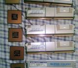 Procesadores Intel Xeon, Celeron,Pentium 4 y memorias ram