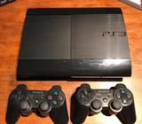 Ps3 Super Slim 500Gb 2 Controles