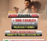 SERVICIO IPTV PRIVADO KODI PANAMÁ 507