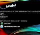 DIBUJO/DIGITALIZACION DE PLANOS CONSTRUCTIVOS
