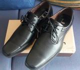 Zapatos de vestir negros para hombre talla 45