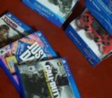 Controles Y Juegos Ps4