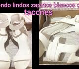 Vendo Lindos Zapatos Blancos Marcadiva
