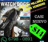 Juego de PS4 Watch Dogs casi nuevo entrega personal