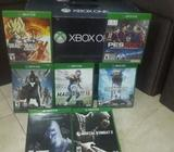 Xbox One con Juegos Y Control