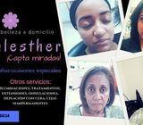 Servicio en Peluqueria y Maquillaje en Salón/ Domicilio: