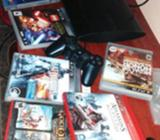 Ps3 Super Slim 500gb 6juegos2controles