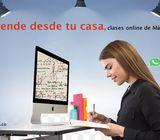 Clases online de Matemáticas..