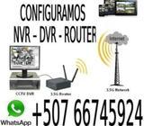 Mantenimiento Configuracion Nvr Dvr