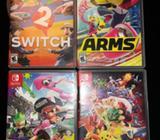 Juegos Variados de Nintendo Switch