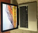MacBook PRO 13 inch Late 2012 Plateada SSD 240 GB