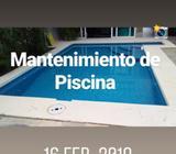 Mantenimiento de Piscina, Limpieza