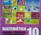 Libro de Matematica de 10 Grado