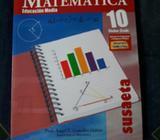 Libro de Matemáticas 10, Susaeta, Ángel