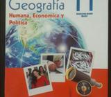 Se Vende Libro de Geografia 11