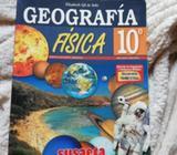 Vendo Libro de Geografía de Decimo