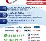 INSTALACION Y MANTENIMIENTOS DE A/A Y LINEA BLANCA