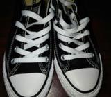 Zapatillas Converse Negras Poco Uso