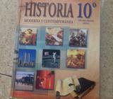 Vendo Libro de Historia Moderna de 10