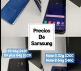 Samsung S5, S6 Edge, S7 Edge Y S7 Active