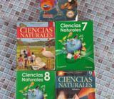 Libros de Ciencias Naturales