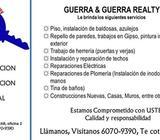 HACEMOS REMODELACIONES Y REPARACIONES EN GENERAL