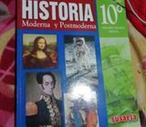 Libro de 10°historia Susaeta