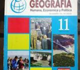 Vendo Libro de Geografía 11
