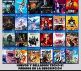JUEGOS DE PS4 NUEVOS Y SELLADOS! TECNO Y!