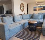 Alquiler de amplio y hermoso apartamento de playa
