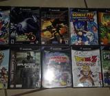Vendo 10 Juegos de Nintendo Gamecube